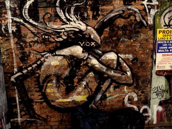 Vox. Graffiti, São Paulo