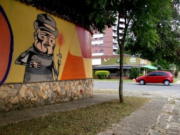 Curitiba Photo 2. Graffiti. Curitiba
