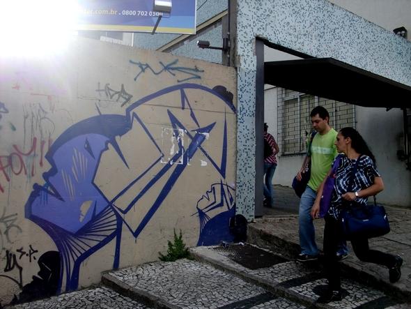 L'espoir. Graffiti. Curitiba